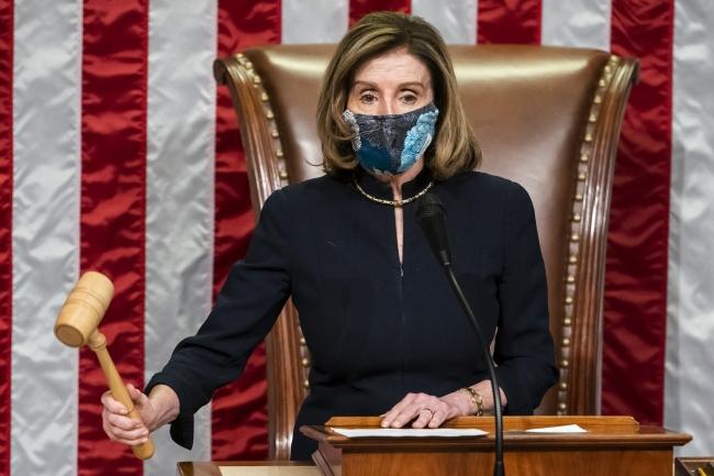 Fotoğraf: AA | ABD Temsilciler Meclisi Başkanı Nancy Pelosi