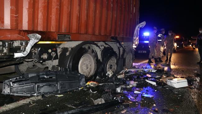 Osmaniye'de zincirleme kaza: 1 kişi öldü, 4 yaralı