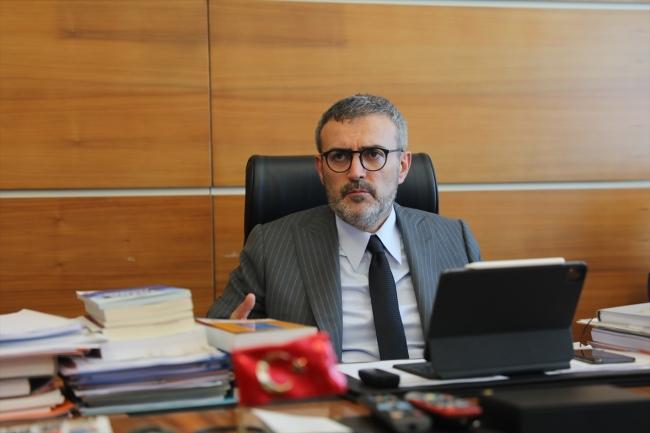 AK Parti Genel Başkan Yardımcısı Mahir Ünal / Fotoğraf: AA