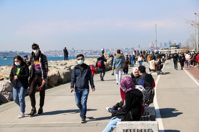 İstanbul'da kısıtlamasız cumartesi yoğunluğu
