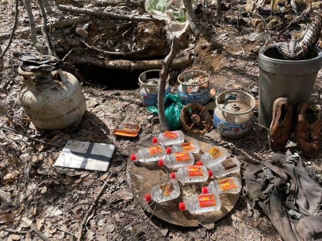 Tunceli'de teröristlerin kullandığı 27 sığınak ve 3 depo imha edildi