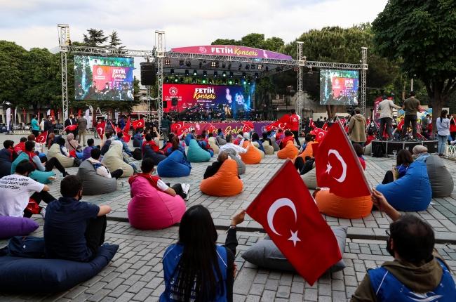 İstanbul'un fethinin 568. yıl dönümü 'Fetih Konseri' ile kutlandı - Son  Dakika Haberleri