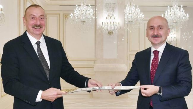Bakan Karaismailoğlu Azerbaycan'da