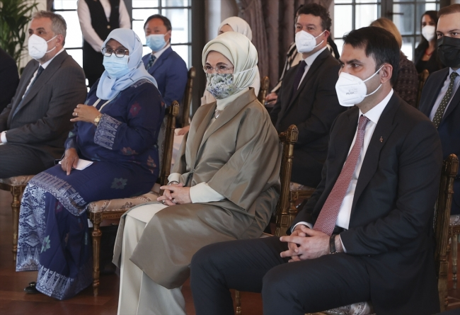 BM'den Emine Erdoğan'a ödül