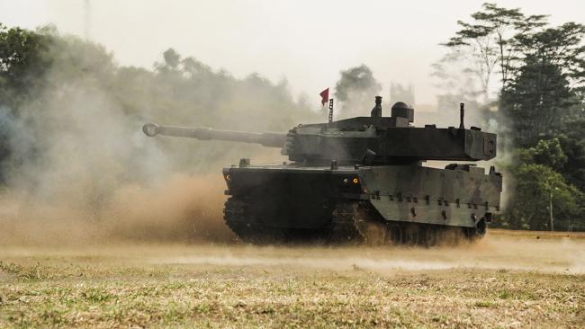 Seri üretime geçen Kaplan tankı IDEF 2021'de