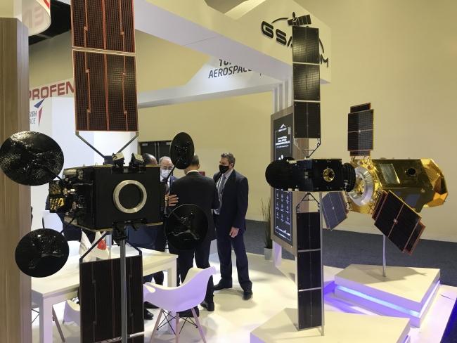 ABD'deki uydu fuarında Türk firmaları boy gösteriyor