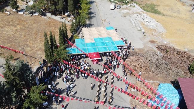İdlib şehidi Ramazan Demir son yolculuğuna uğurlandı