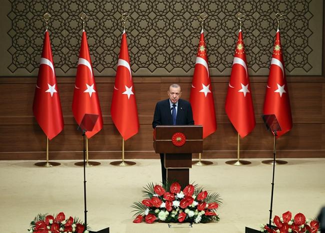 Cumhurbaşkanı Erdoğan: 2023, Türkiye'nin yeniden şahlanışının sembolüdür