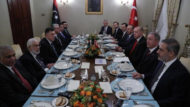 Türkiye ile Libya Ulusal Mutabakat Hükümeti (UMH) arasında, ''Güvenlik ve Askeri İşbirliği Mutabakat Muhtırası'' imzalandı. Fotoğraf: AA