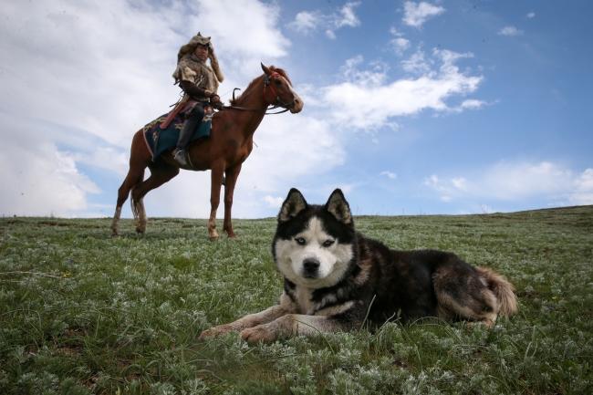 Kırgız Türkleri Ata Sporları Kökbörüyü Vanda Yaşatıyor