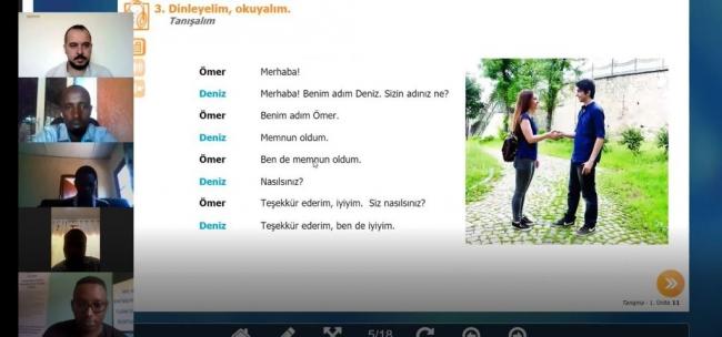 Ruanda Türkçe ile tanıştı