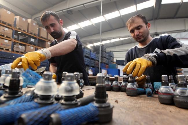 Türkiye, otomotiv yedek parçası üretip, bunu farklı ülkelere ihraç eden önemli markalara da sahip. Foto: AA