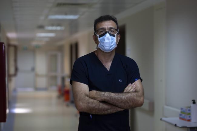 Türk Yoğun Bakım Derneği Başkanı Prof. Dr. İsmail Cinel. Foto: AA