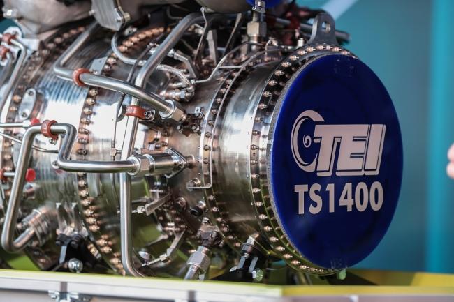 TEI-TS1400 motounun yaklaşık yüzde 45'i katmanlı imalat ile yapıldı. Foto: AA