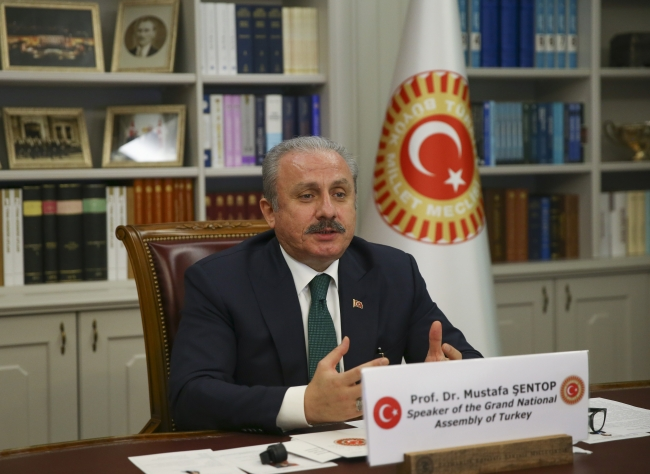 Meclis Başkanı Mustafa Şentop / Fotoğraf: AA