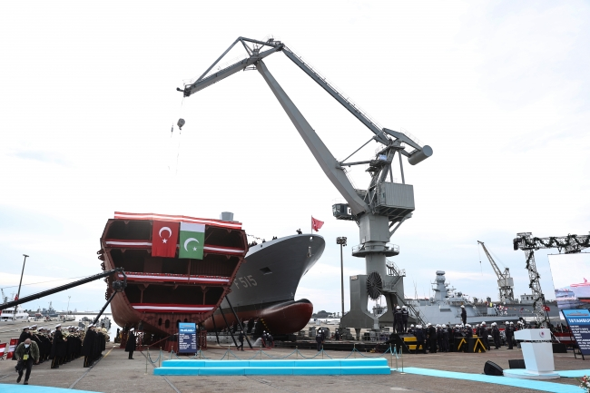 Türkiye'nin yerli ve milli gemileri Pakistan ve Ukrayna tarafından da tercih edildi. Foto: AA