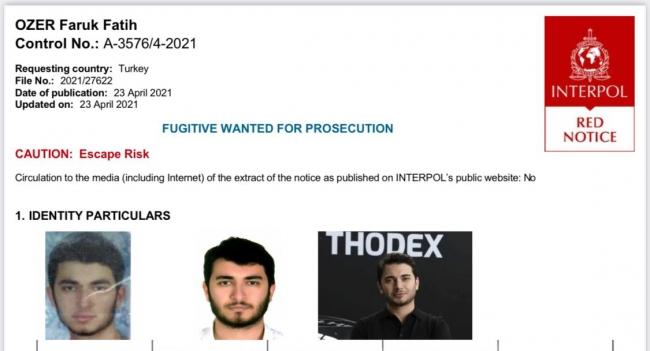 Özer'in yakalanması için 4 ülkeye ekip gönderildi