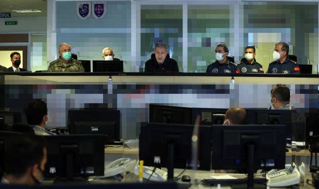 Pençe'de biri sözde bölge sorumlusu 7 terörist etkisiz hale getirildi