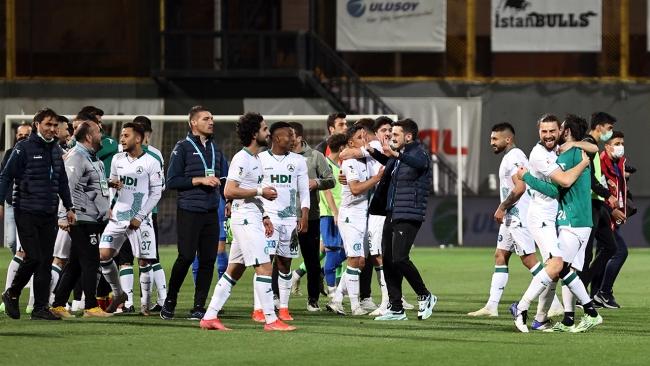 Giresunspor'un 44 yıllık hayali gerçek oldu