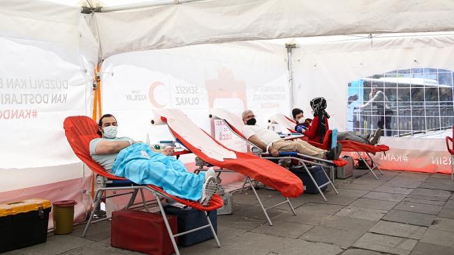 Kızılay'ın kan bağışı çağrısı karşılıksız kalmadı