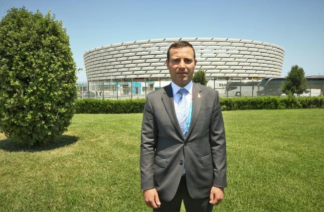 Azerbaycan Futbol Federasyonu (AFFA) İdari İşlerden Sorumlu Başkan Yardımcısı Elhan Memmedov | Fotoğraf: AA