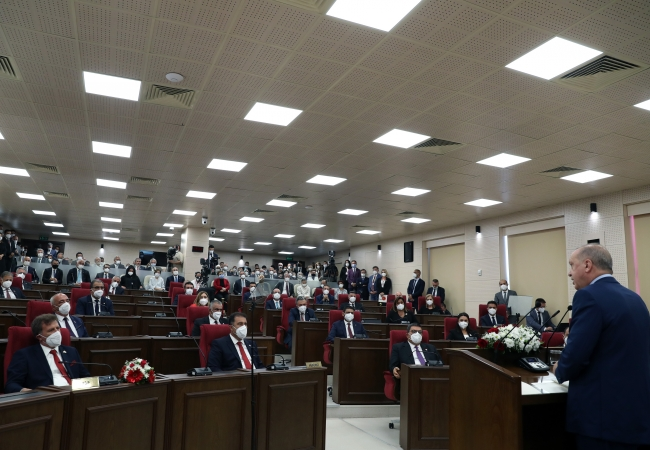 Cumhurbaşkanı Erdoğan'dan KKTC'ye külliye müjdesi