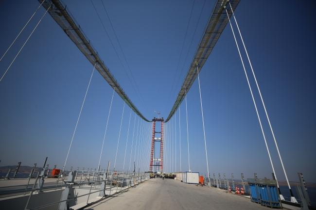 1915 Çanakkale Köprüsü'nde sona doğru