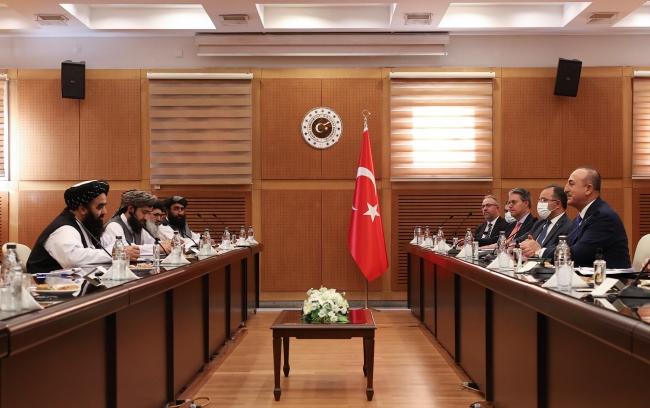 Bakan Çavuşoğlu: Taliban yönetimine tavsiyelerde bulunduk