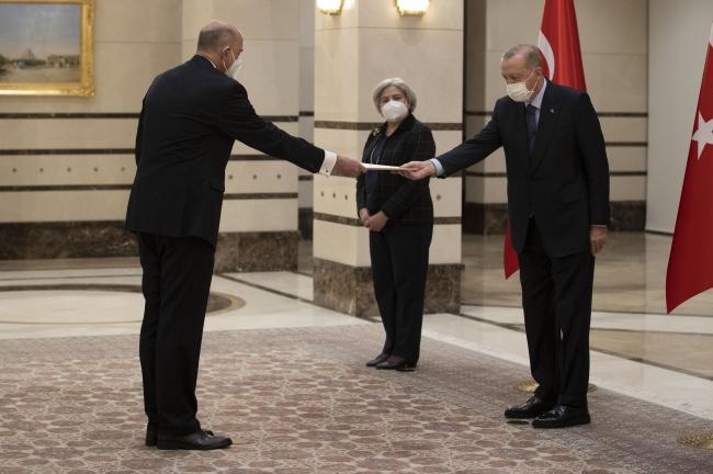 Cumhurbaşkanı Erdoğan, 2 ülkenin büyükelçilerini kabul etti