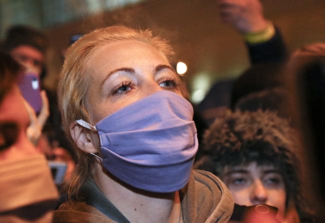Aleksey Navalny'nin eşi Yuliya Navalnaya - Fotoğraf: AP