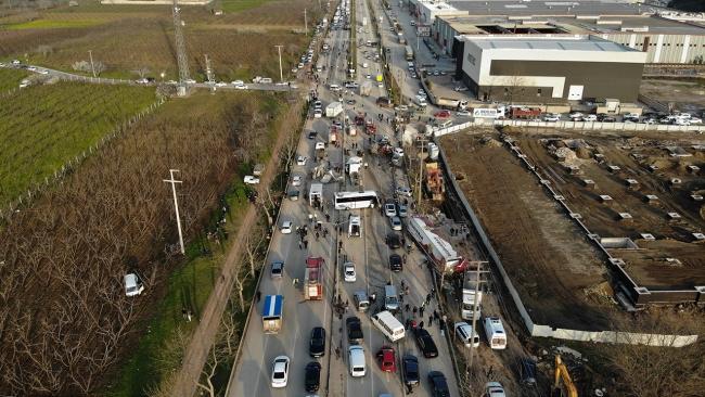 Kara yolunu savaş alanına çeviren tır şoförü: Kazaya engel olamadım