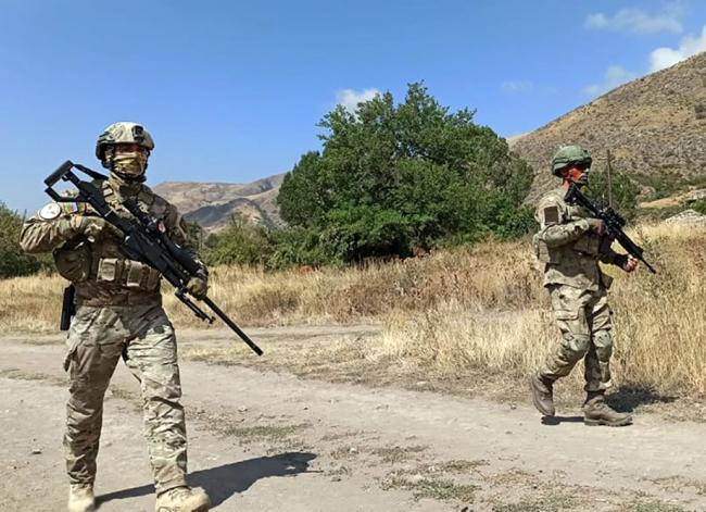 Türkiye ve Azerbaycan'dan Laçın'da ortak askeri tatbikat