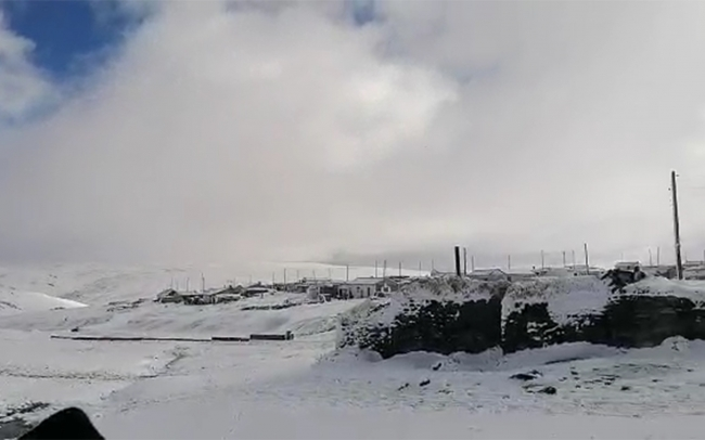 Kar etkili oldu, yaylacılar dönmeye başladı