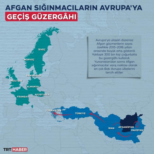 Grafik - Harita: TRT Haber / Hafize Yurt