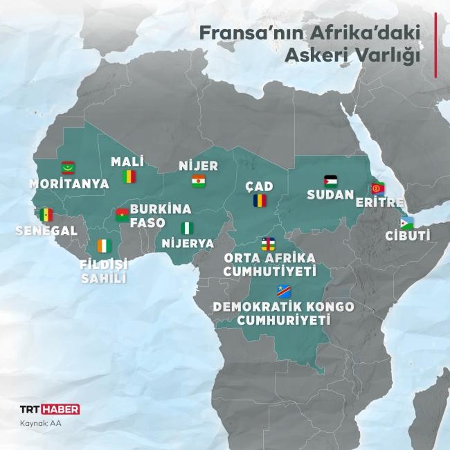 Kara kıta Afrika'da güç mücadelesi: Fransa
