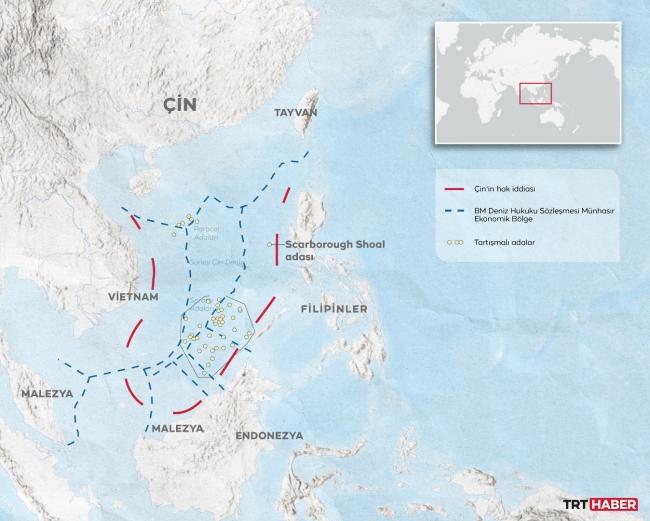 Güney Çin Denizi'nde ABD ve Çin'in güç mücadelesi
