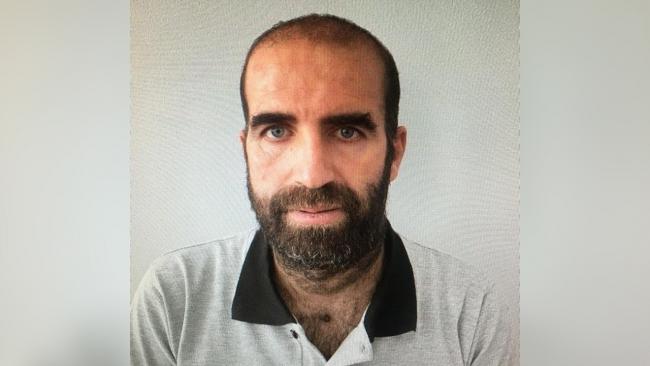 Suriye uyruklu terörist Delil Hıso - Fotoğraf: TRT Haber