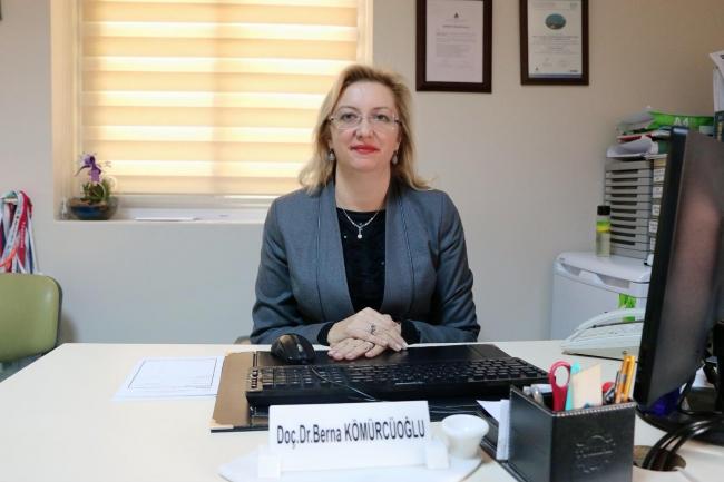 Sağlık Bilimleri Üniversitesi Göğüs Hastalıkları Uzmanı Doç. Dr. Berna Eren Kömürcüoğlu
