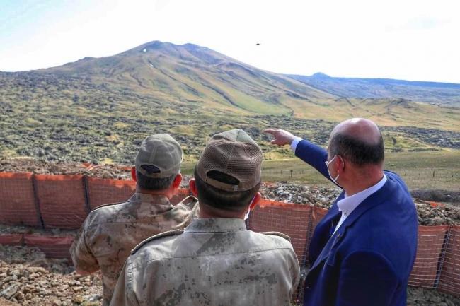 Bakan Soylu: Tendürek'in zirvesinde kalıcı üs bölgesini gerçekleştireceğiz