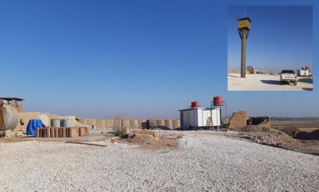 Amerika Birleşik Devletleri'nin Suriye'nin Türkiye sınırına 30 kilometre mesafedeki alanda bulunan ve boşaltıldığı iddia edilen üslerinden biri.