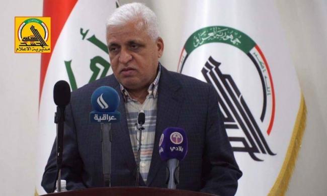 Haşdi Şabi Başkanı Falih el-Feyyad. Fotoğraf: Haşdi Şabi resmi internet sitesi