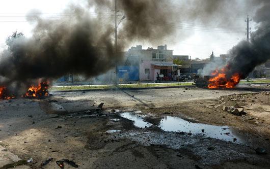 Taziye Çadırına Düşen Roket Sonucu 30 Kişi Şehit Oldu 49 Kişi Yaralandı