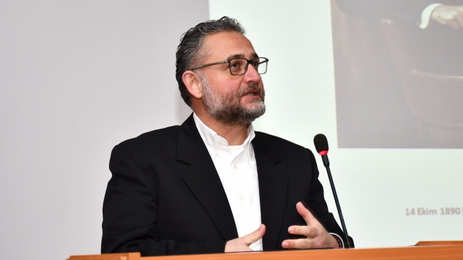 Mersin Üniversitesi Öğretim Üyesi Kaan Kutlu Ataç.