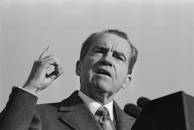 Richard Nixon. Fotoğraf: Getty