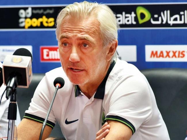 Hollandalı teknik direktör Bert van Marwijk. Fotoğraf: Gulf News