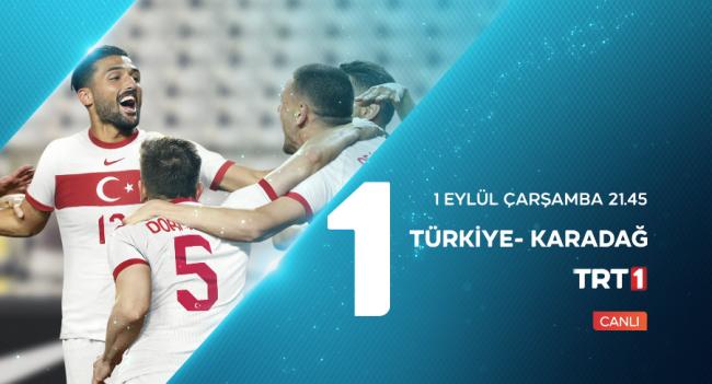 Milli heyecan TRT'de yaşanacak