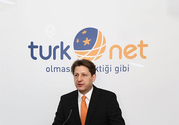 TurkNet Genel Müdürü Cem Mehmet Çelebiler.