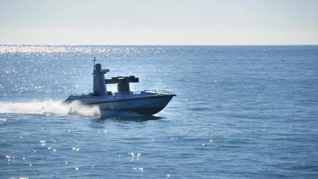 Silahlı İnsansız Deniz Araçları da gelecek dönemde kullanıma alınabilir. Foto: AA