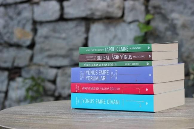 Yunus Emre ile ilgili yayınlar | Fotoğraf: Dr. Mustafa Tatcı