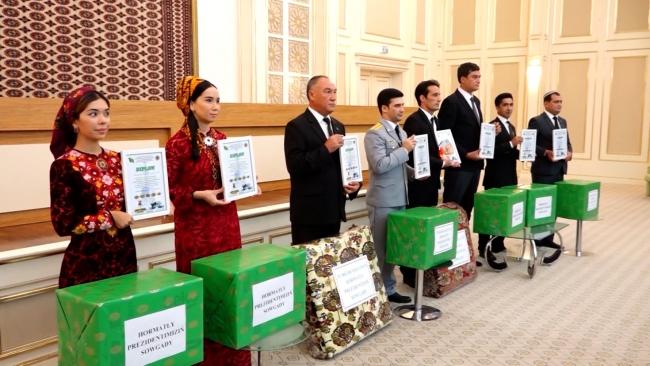 TRT Aşkabat temsilciliğine ödül